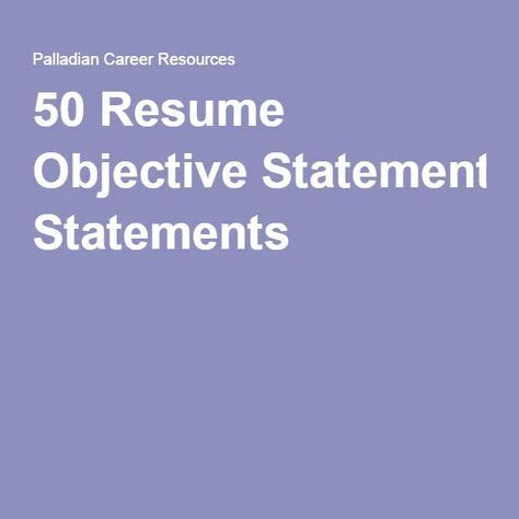 Sample work resume objectives